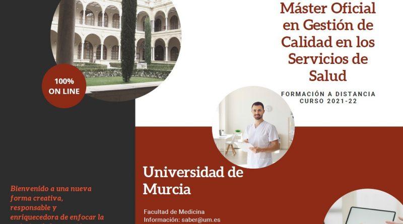 Máster de Gestión de Calidad en los Servicios de Salud-Universidad de Murcia